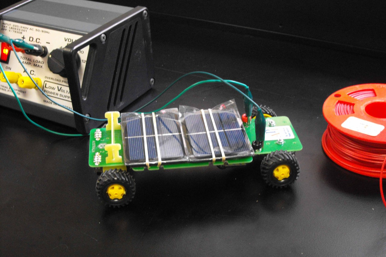 api solar car challenge - the forest high school